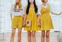 K-fashion similar look