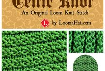 loom breien / patronen, steken en how to do's