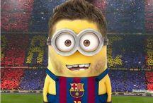 Voetbal minion