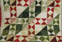 Christmas - Quilts / by Carolyn Choiniere
