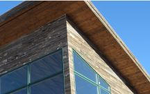 Reclaimed Wood Soffits and Fascia / Homes, tiny houses, and businesses using reclaimed wood to construct their soffits and fascia.