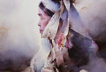 Fantastic watercolor