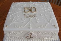 50th anniversary cake ideas