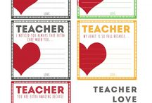School + Teacher Gifts / by The Casual Craftlete