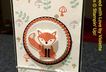 Stampin' Up! Foxy Friends / Foxy Friends from Stampin' Up! - stamp set and matching punch