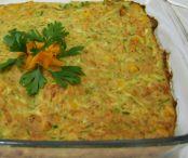 Torta de abobrinha e milho verde