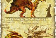 Dragons et créatures fantastiques