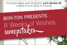 Bon-Ton 8 Weeks of Wishes Pinterest Sweepstakes / by Annemarie Zito