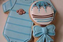 Baby's Cookies / Galletas, cookies con una decoración infantil monísimas.