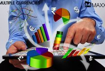 Multiple Currencies / Multi Currencies feature in MAXX brings the new vision and powerful multi currency accounting capabilities in business.... http://maxxerp.blogspot.in/2013/11/multiple-currencies-multi-currencies.html