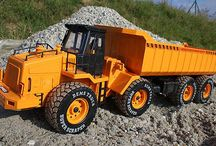 Rc construction trucks