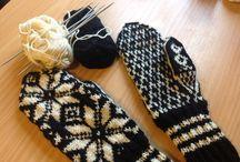 Scandinavian knitting time