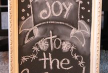 Chalkboards / Chalkboards are a way to draw on walls without getting in trouble.  / by Jenalee Herndon