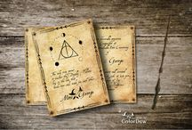 Harry Potter Themed Wedding Invitations / For the ultimate Harry Potter fans, who want to bring a little magic into their celebration of love.