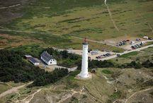 Luftaufnahmen / Über den Ferienhäusern von DanWest - Luftaufnahmen der Region rund um den Ringkøbing Fjord.