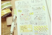 Hobonichi happy / Diary art journaling and planning