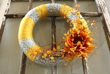 Fall decor / by Cindy Marlowe