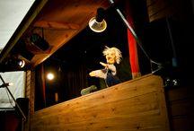 Gignolet dans le Parc / Théâtre de marionnettes en plein air - Openluchttheater marionetten