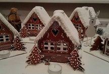 Perníková chaloupka / Vánoční perníková chaloupka