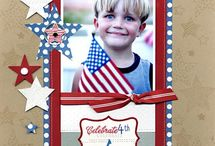 4th of July Layouts / 4th of July Layouts