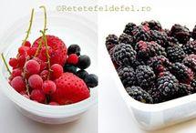 congelarea fructelor mici