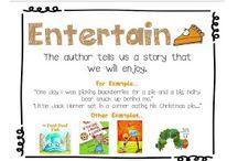 Kindergarten Literacy - Author's Purpose