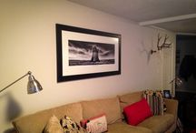 My Work In Client's Homes / These are images of my photographic work that client's have purchased and hung in their homes.