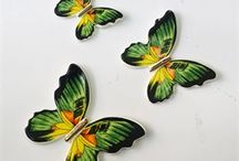 yeşil kelebek