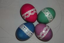 Easter / Ostern / crafts and designs for spring and easter