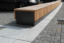 furniture public space / custom made (removeable) furniture for public space