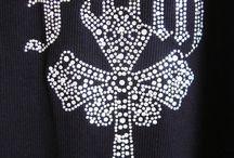 Rhinestone Cross Shirts