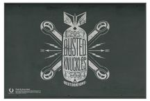 busted-knuckles / Creation Logo by Bruno Allard creation ©