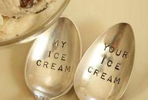 Ice cream / by Regiane Thahira