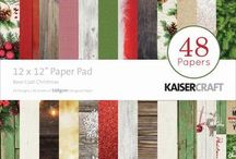 Scrapbooking - Base Coat Christmas by Keisercraft