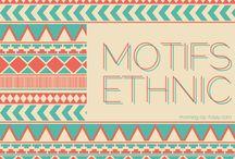 ethno | ethnic & aztek pattern