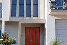 Contemporary Doors / Doors with simple lines reflect contemporary architectural styles / by Simpson Door Company