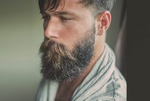 hairstyles / beards