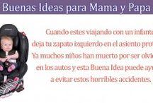 Buenas ideas para mama y papa / by Tu Maternidad
