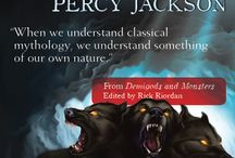Demigods and Monsters / Some of our favorite quotes from DEMIGODS AND MONSTERS, an anthology on Rick Riordan's Percy Jackson and the Olympians series http://www.smartpopbooks.com/book/demigods-and-monsters-expanded-edition