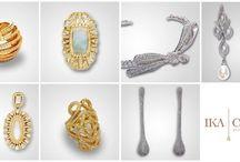 Acessórios para noivas, madrinhas e mães dos noivos: Brincos, anéis e tiaras de noiva