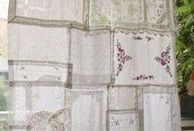 hanky curtain