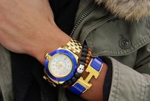 combo watch and bracelets