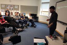 Cogapp Visit BDMA / Jon from Cogapp comes to BDMA to talk through his digital journey
