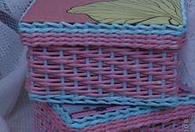 pletenie - baskets