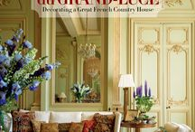 An Invitation to Chateau du Grand-Lucé / My first book about the restoration and decoration of my home in the French countryside. Published by Rizzoli, 2013.