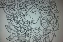 My tattoo designs / by Amanda Cox