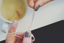 Crochet Jewellery / Crochet Jewellery and handmade crochet beads by Penh Lane