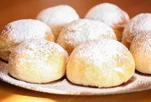Kaker / Oppskrifter på kaker, bröd mm