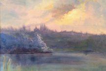 Waterscapes-Deborah Leonard Art / My original art work
