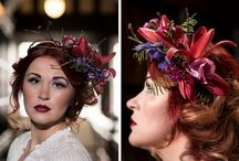Hair flowers by Paragon Floral Design